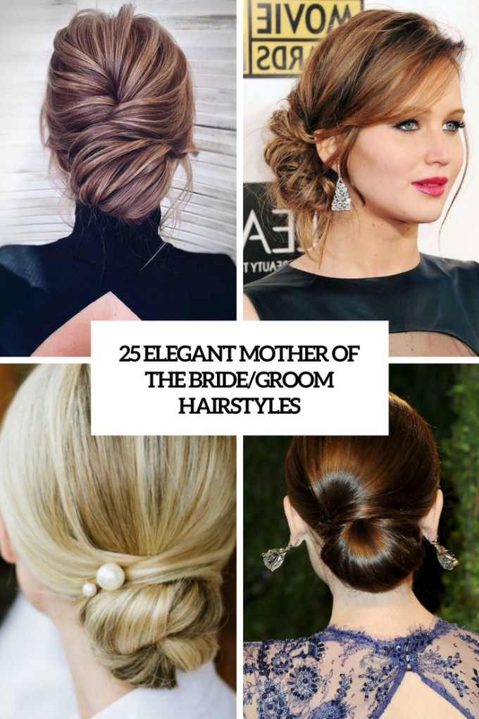 25 elegant mother of the bride/groom hairstyles - weddingomania