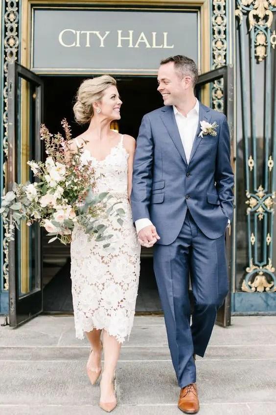 These City Hall Brides Nailed It Civil Wedding Dresses Civil