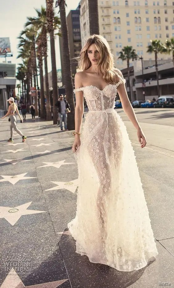 25 Jaw-Dropping Bustier Wedding Dresses - crazyforus