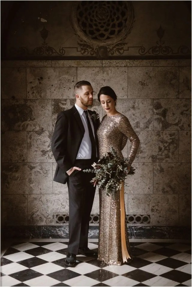 25 Shiny New Year S Eve Wedding Gowns Crazyforus