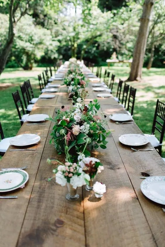 a garden or a greenhouse is a great venue option for a brunch wedding