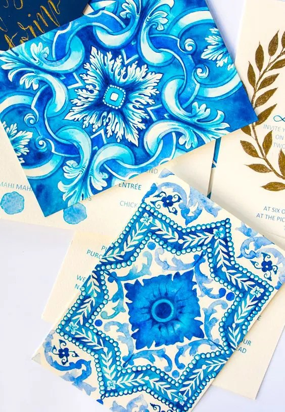 Mediterranean Wedding Stationery