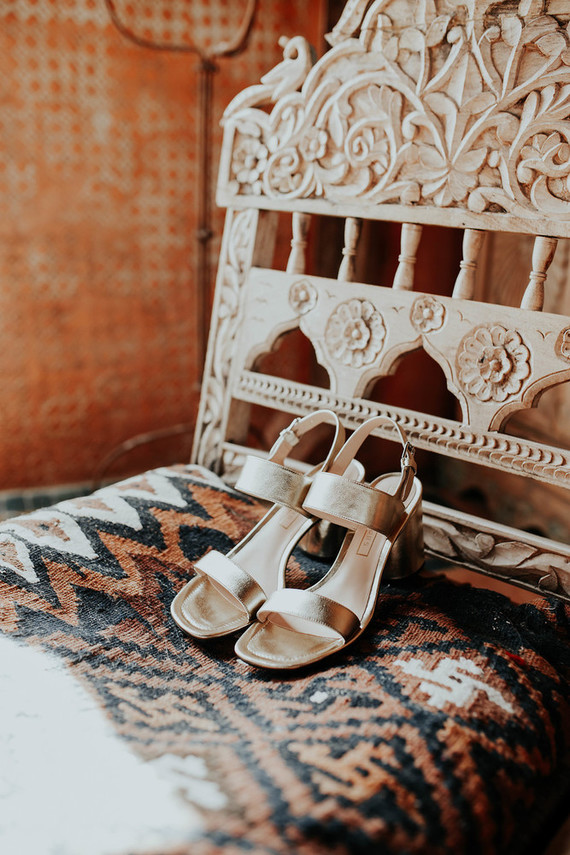 comfy silver mules with stable heels are great for wearing at the wedding, they won't let you get tired too fast