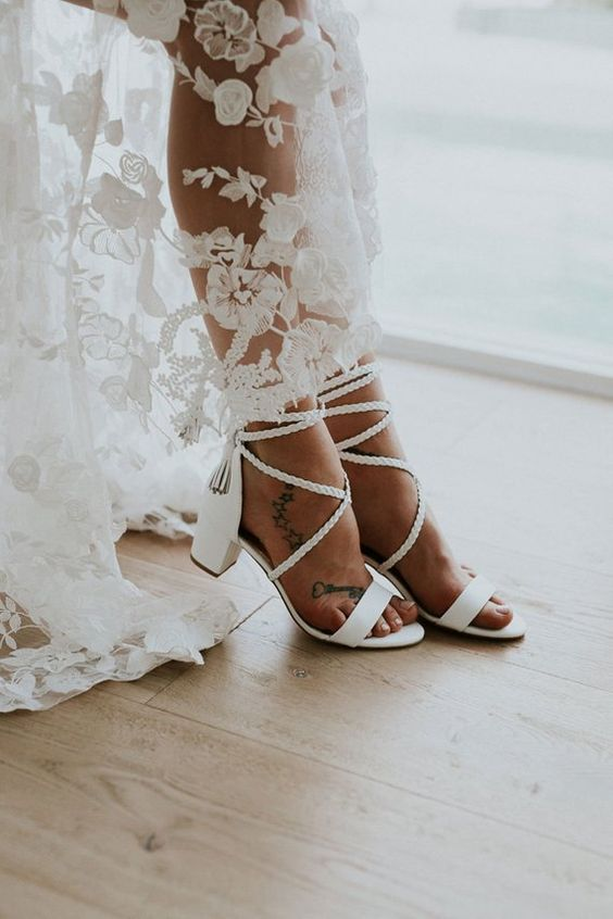 d175935c693e 25 Edgy Boho Wedding Shoes And Boots - crazyforus