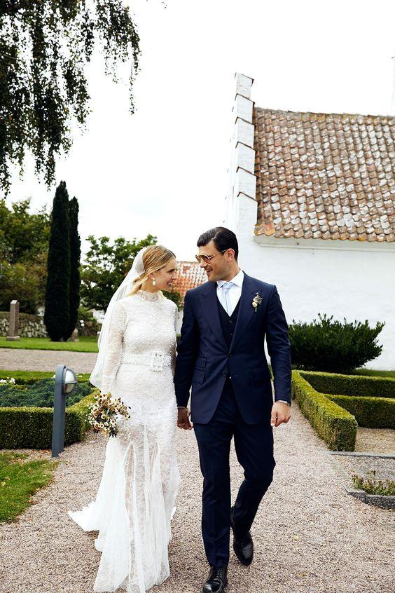 Turtleneck Wedding Dresses