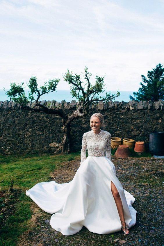 Turtleneck Wedding Separates