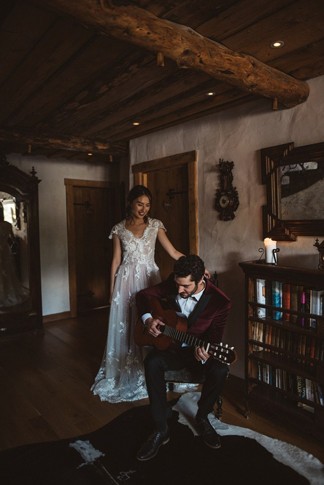 Boho French Alps Elopement With A Wild Feel