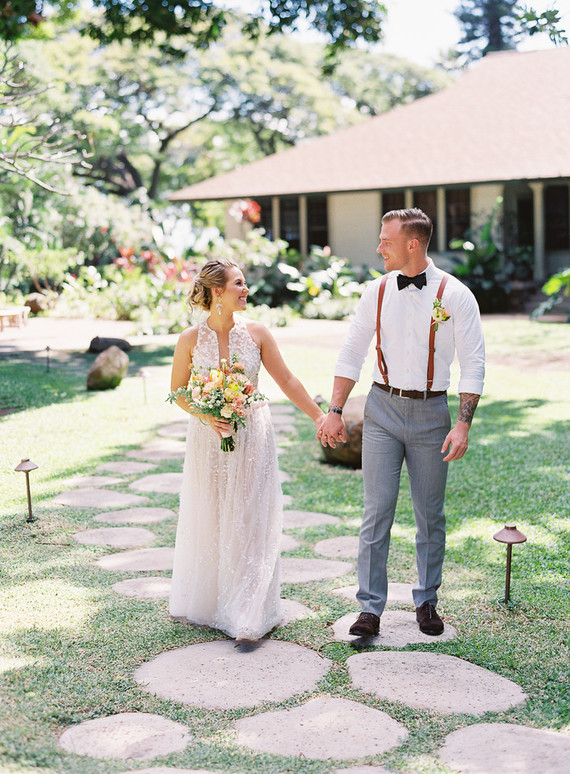 Hawaii Wedding Inspired By Maui Sunsets