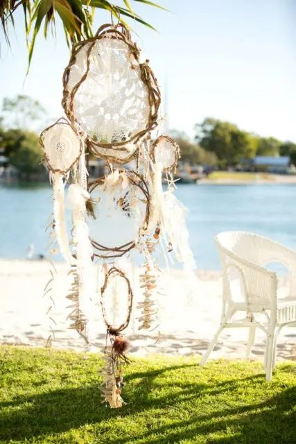 22 Boho Wedding Dreamcatcher Dcor Ideas Weddingomania