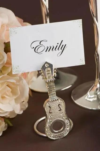 Guitar Decor Wedding