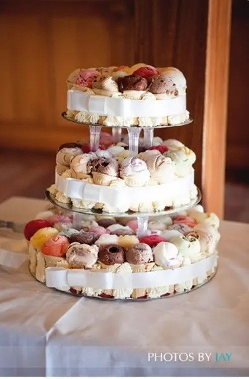 25 Cheap And Cool Wedding Cake Alternatives Weddingomania