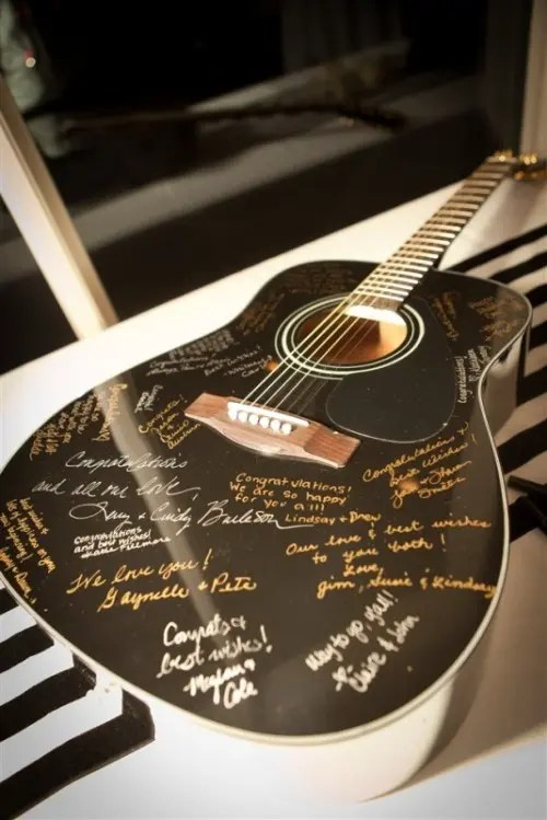 unique and fun music inspired wedding ideas