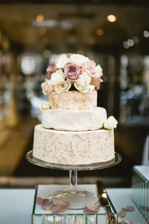 27 Non Traditional Cheese Wheel Wedding Cakes Weddingomania