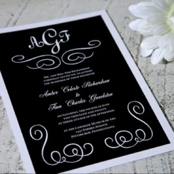 Autumn Rustic Wedding Invitations