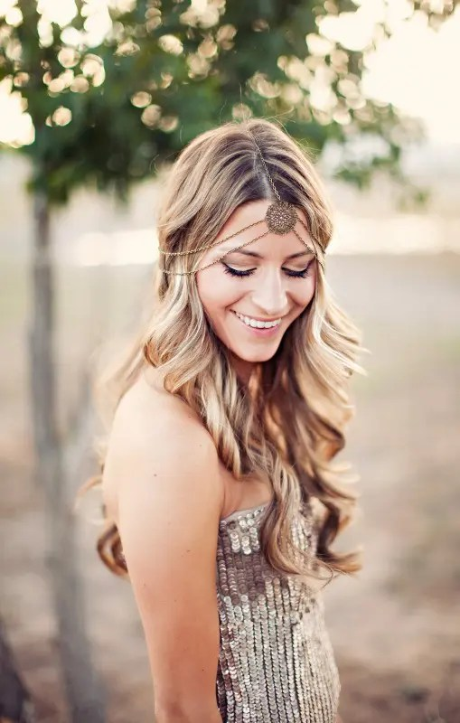 Picture Of New Beautiful Hair Ideas For Beach Wedding