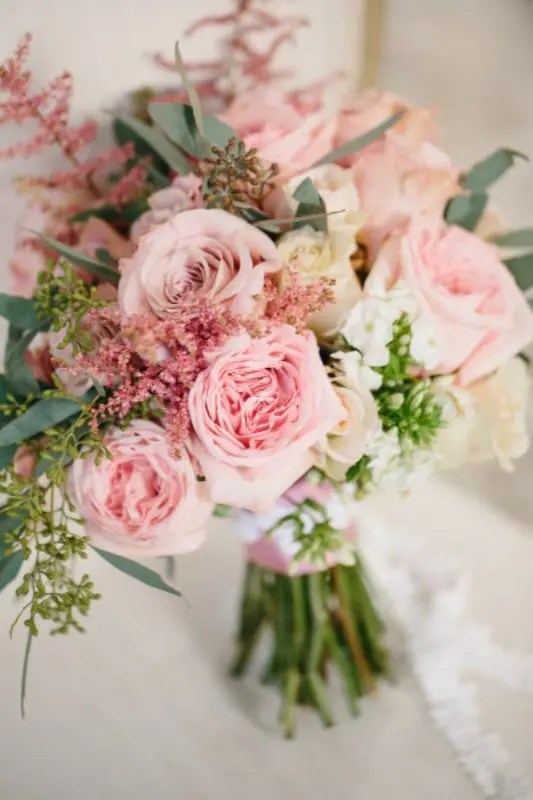 Picture Of Romantic Light Pink Wedding Inspirational Ideas