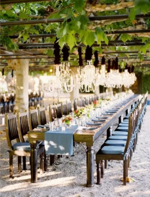 52 wedding long tables and receptions