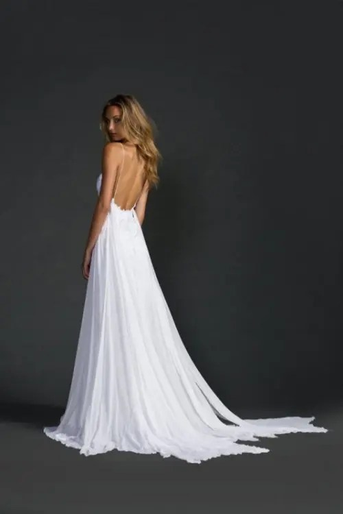37 Jaw Dropping Low Back Wedding Dresses Weddingomania