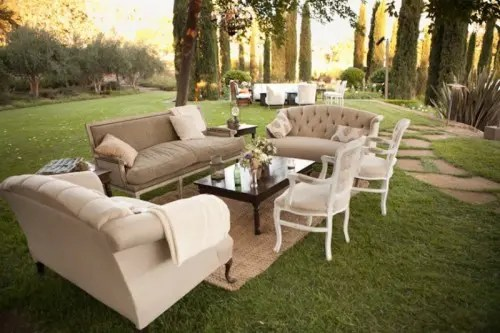 40 Amazing Outdoor Wedding Lounge Ideas - Weddingomania on Backyard Lounge Area Ideas id=85655