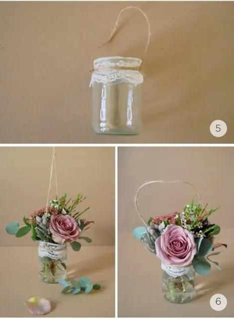 Gentle DIY Rustic Hanging Aisle Wedding Dcor Weddingomania