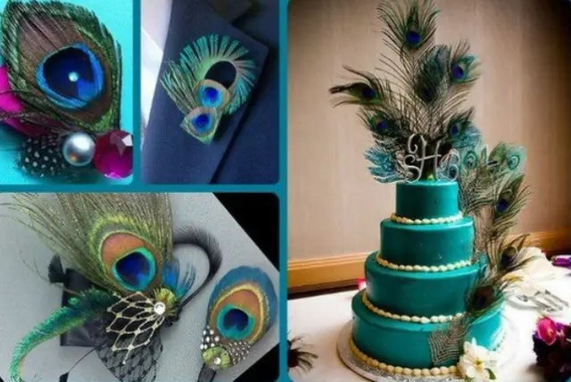 Picture Of Awesome Peacock Wedding Ideas