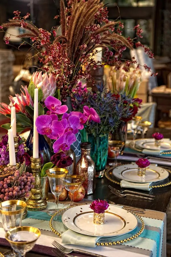 Picture Of Boho Chic Wedding Table Settings To Get Inspired 11