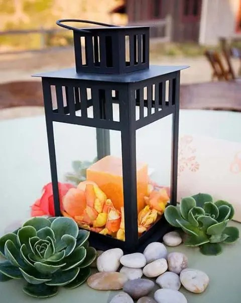Diy Wedding Centerpieces No Flowers Without Party Decoration