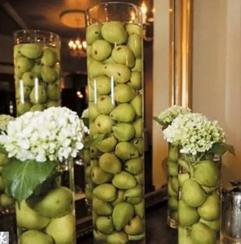 Creative Non Fl Wedding Centerpieces