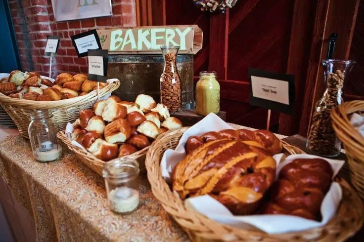 Picture Of Cute And Cozy Fall Wedding Food Bars