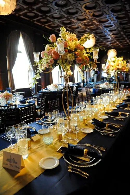 58 Elegant Navy And Gold Wedding Ideas Weddingomania
