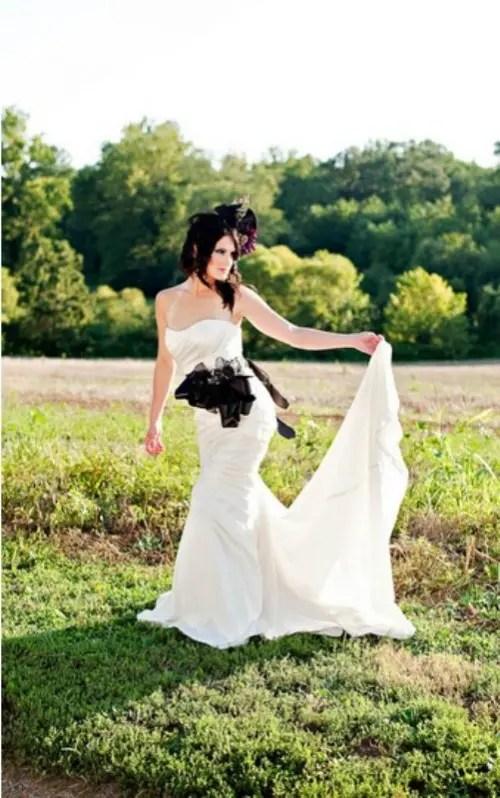 Elegant Tim Burton Styled Wedding Inspiration Weddingomania