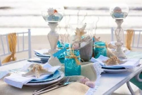 Theme Bridal Beach Wedding Shower Decorations Lofty Idea 13