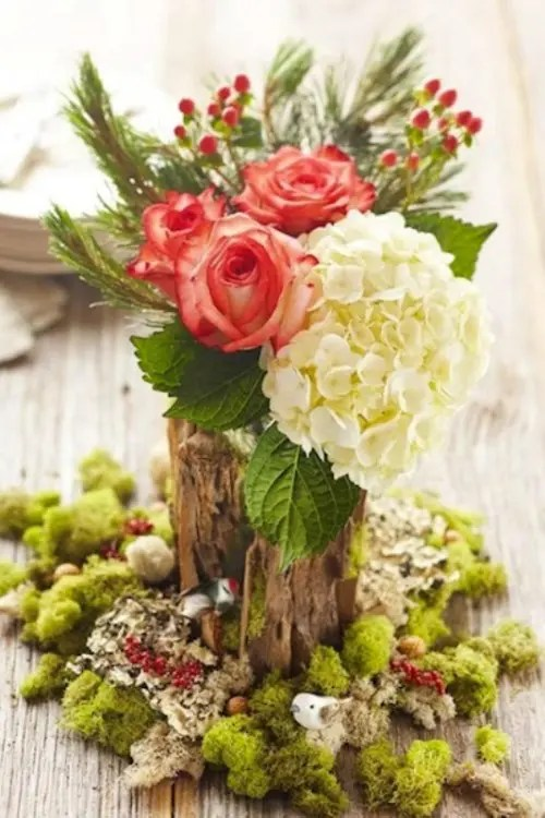 Inspiring Winter Wedding Centerpieces