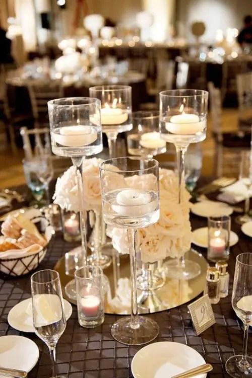 Inspiring Winter Wedding Centerpiece