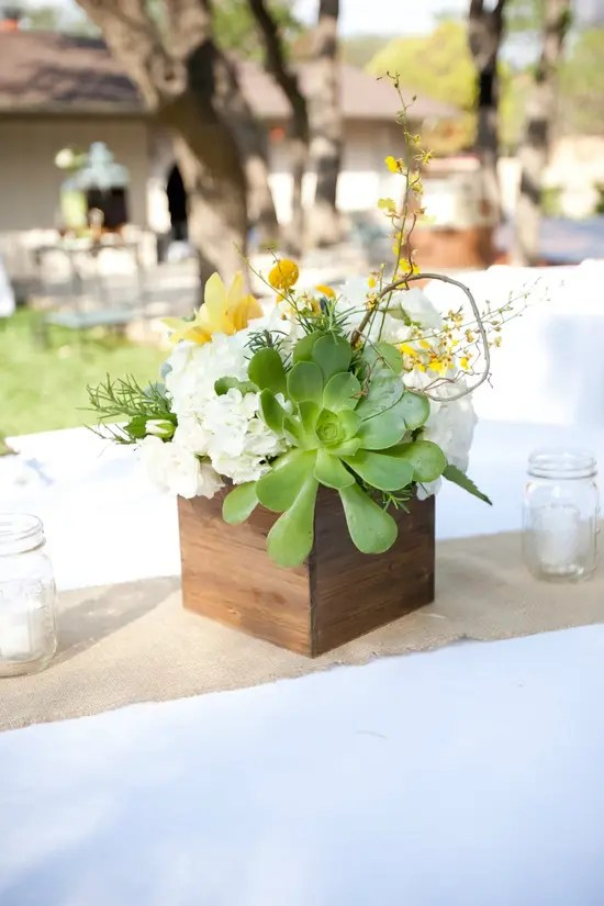 Fall Wedding Reception Decor