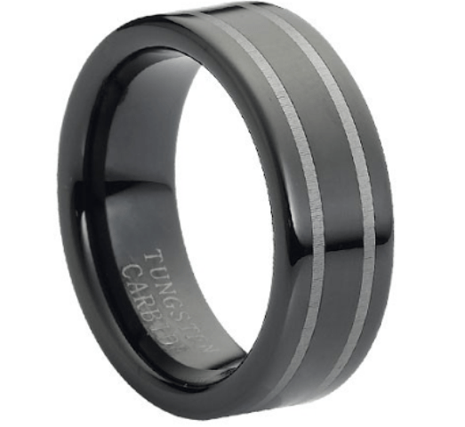 Picture Of Tungsten Wedding Bands For Grooms