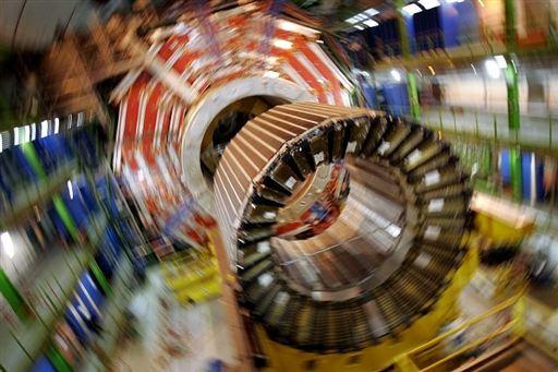 9.  Wielki zderzacz hadronów