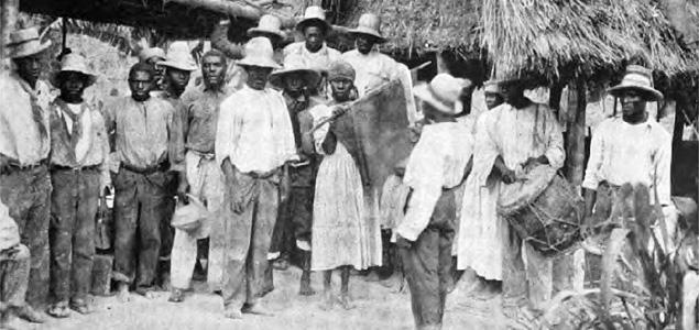 Mieszkańcy La Gonave,
