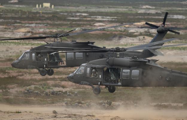 Natowskie ćwiczenia w Żaganiu; czerwiec 2015 r.