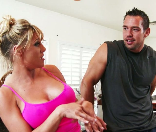 Hot Blooded Dude Johnny Castle Doggy Fucks Delicious Busty Mom At Kitchen Hard