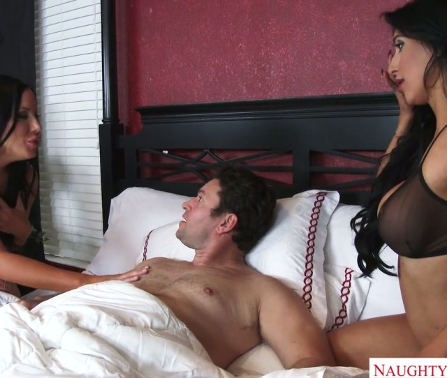 Voluptuous Valerie Kay Fucking Passionately In Exciting Ffm Threesome