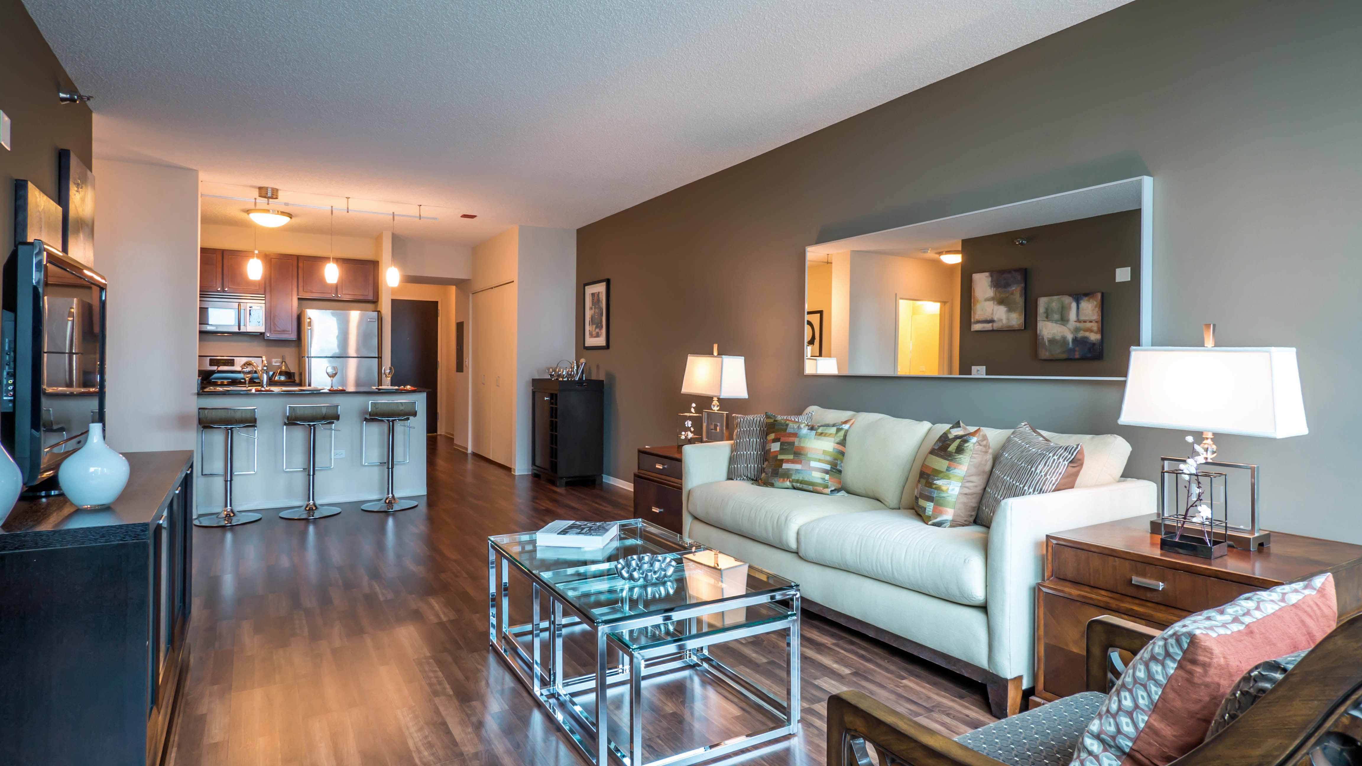 Checking Out A One-bedroom Apartment In Streeterville