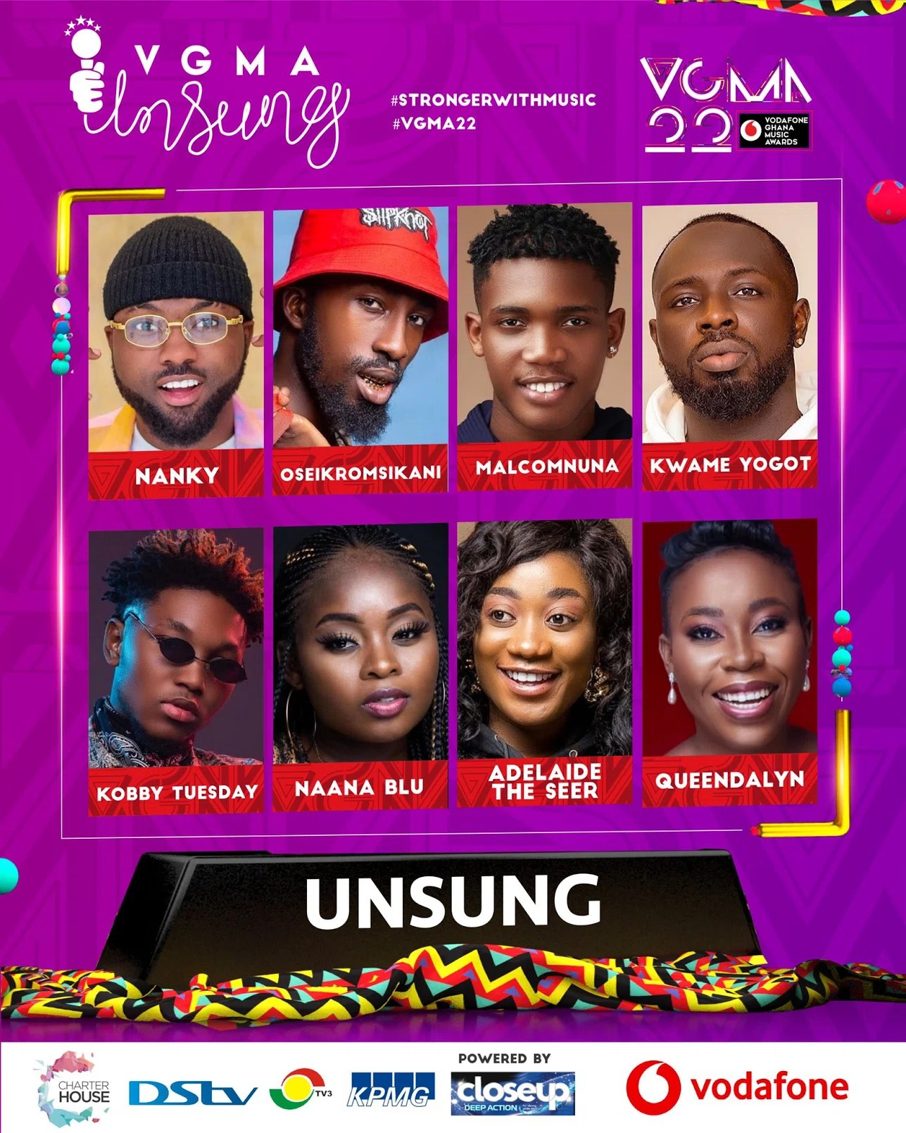 20210403 130236 Chartered House Has Released The Nominees List Of The 22nd Edition Of VGMA Awards