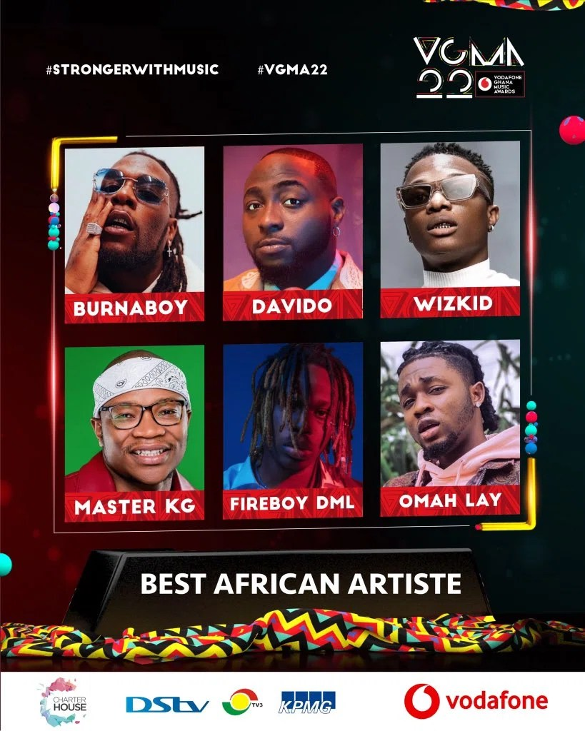 20210403 163017 Chartered House Has Released The Nominees List Of The 22nd Edition Of VGMA Awards