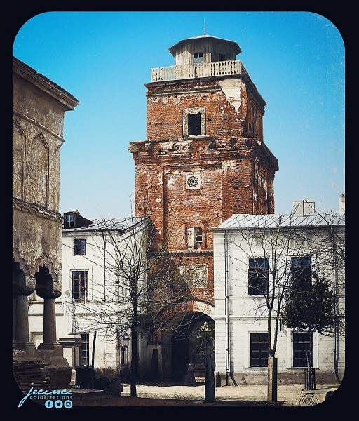 Turnul Colţei la 1867
