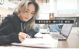 STUDY WITH ME [White Noise] AT THE LAW LIBRARY #2