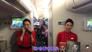空姐飞机上演唱《成都》走红,网友:这歌声气质给满分,一点不怕你骄傲