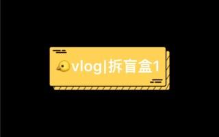 vlog|拆泡泡玛特盲盒Molly小火车系列&潘神万圣限量+星座