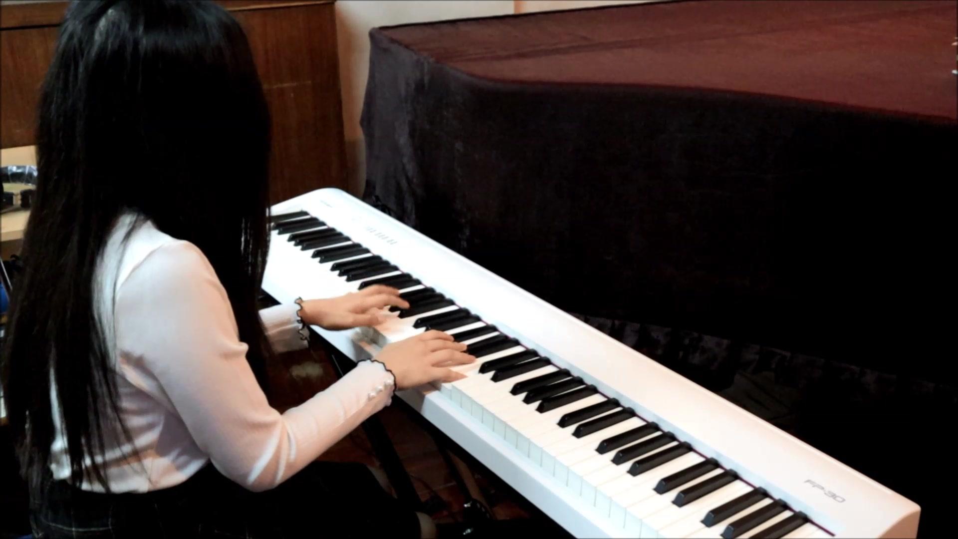 林俊杰 - 將故事寫成我們 - piano cover by Melody_嗶哩嗶哩 (゜-゜)つロ 干杯~-bilibili