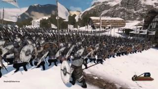 骑砍2雪地战 斯特吉亚VS瓦兰迪亚(拥有战略AI)